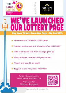 Local lotto launch poster