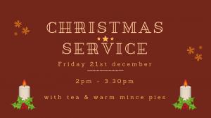 Christmas Service 21st Dec 2019