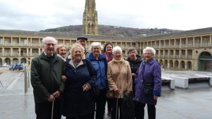 Members at the Piece Hall in Halifax