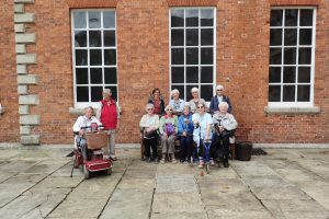 Members on a day trip to Lotherton Hall
