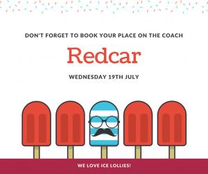 Redcar day trip