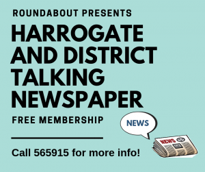 Harrogate talking newspaper Information