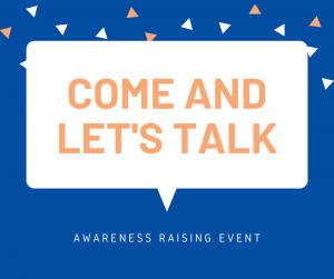 lets talk, awareness raising day