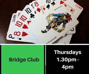 Bridge club advert