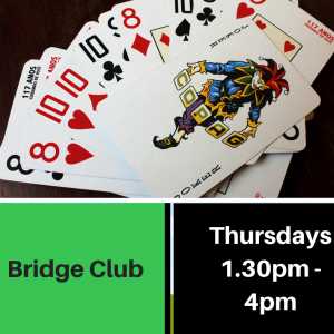 Bridge club advert