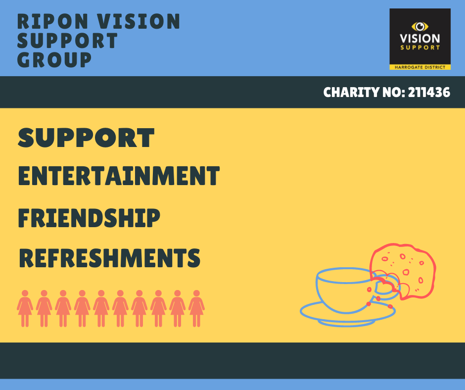 Ripon Vision Support Group logo