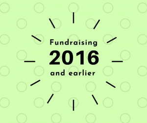 Fundraising 2016