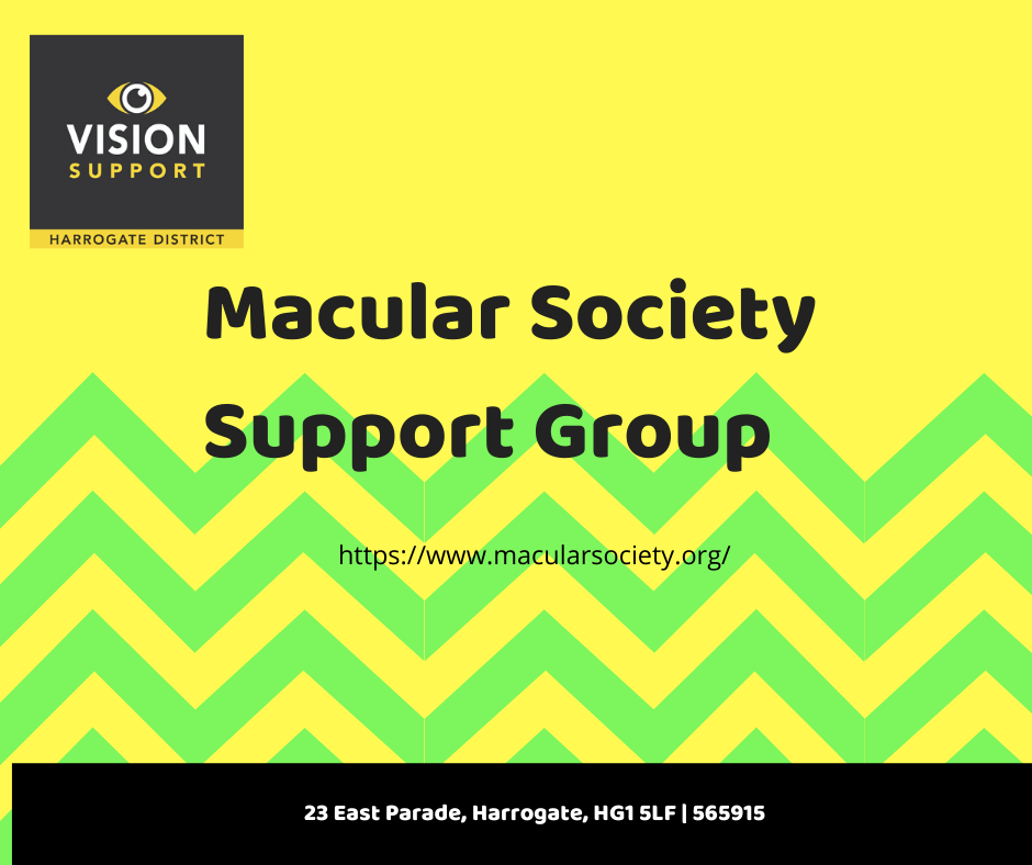 Macular Society meeting advert