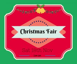 Christmas fair advert