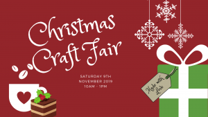 Christmas craft fair advert image