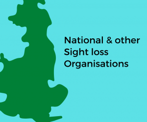 National and other sight loss organisations