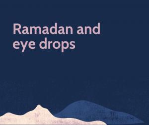 Ramaddddddddddd and eye drops