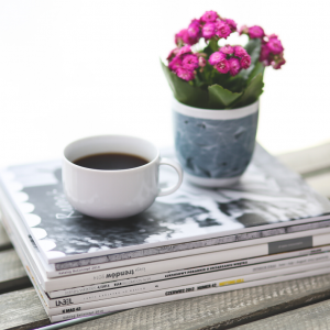 Coffee and news image