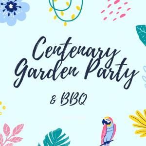 Centenary Garden Party & BBQ logo