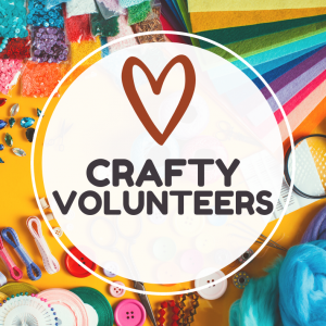 Crafty Volunteers logo